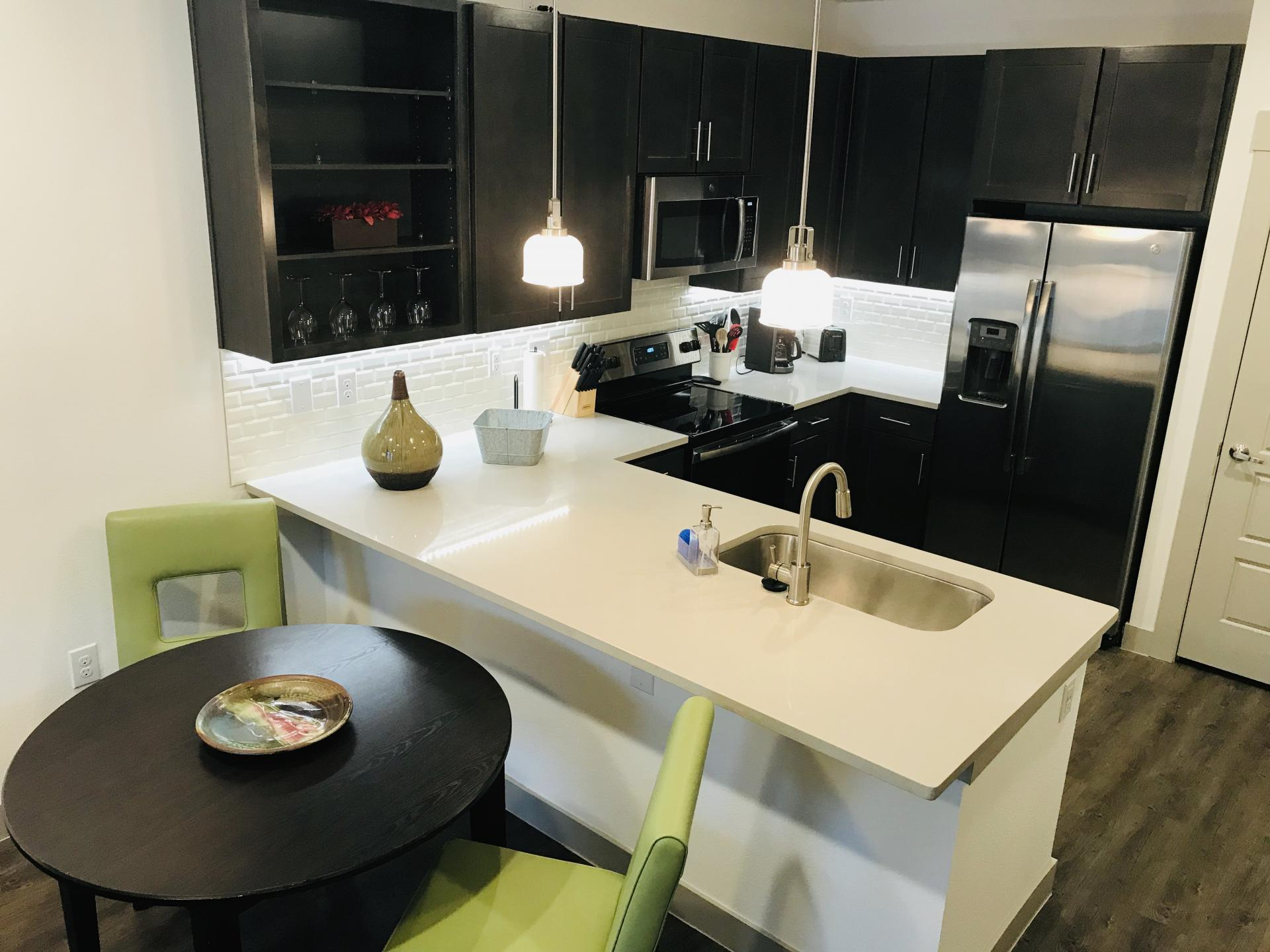Kitchen at Preserve at Iron Horse Apartment, Centre, Franklin