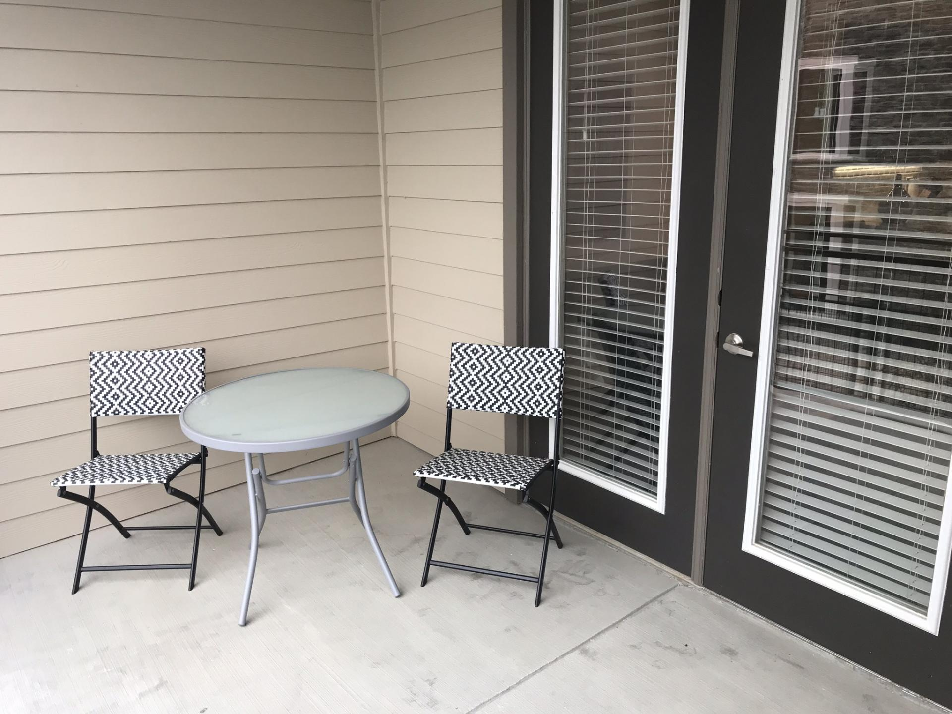 Balcony at Preserve at Iron Horse Apartment, Centre, Franklin