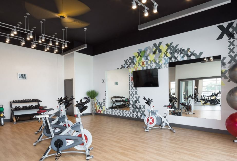 Fitness centre at Gallery at Domain Apartment, Round Rock, Austin