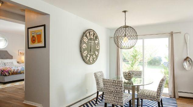 Living room at Southpoint Apartment, Centre, Massapequa