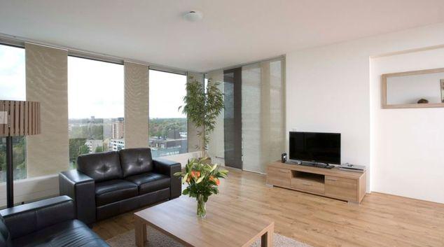 Living area at Koningin Apartment, Andreas Ensemble, Amsterdam