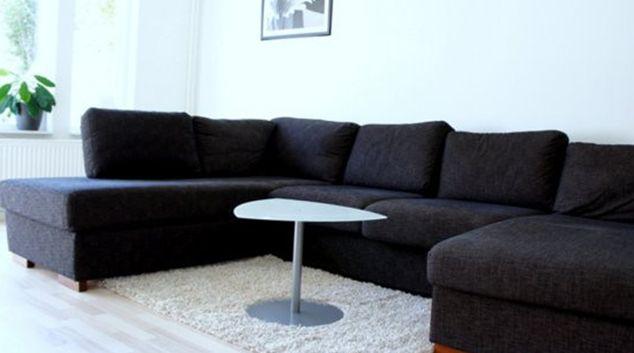 Living room at Sodervarn Apartments, Lönngaden, Malmö