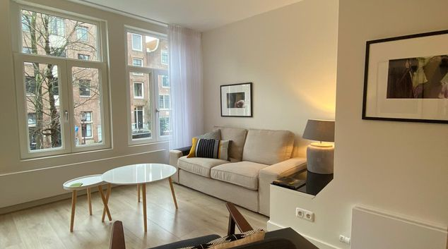 Living room at Amstel Central Apartments, Centre, Amsterdam