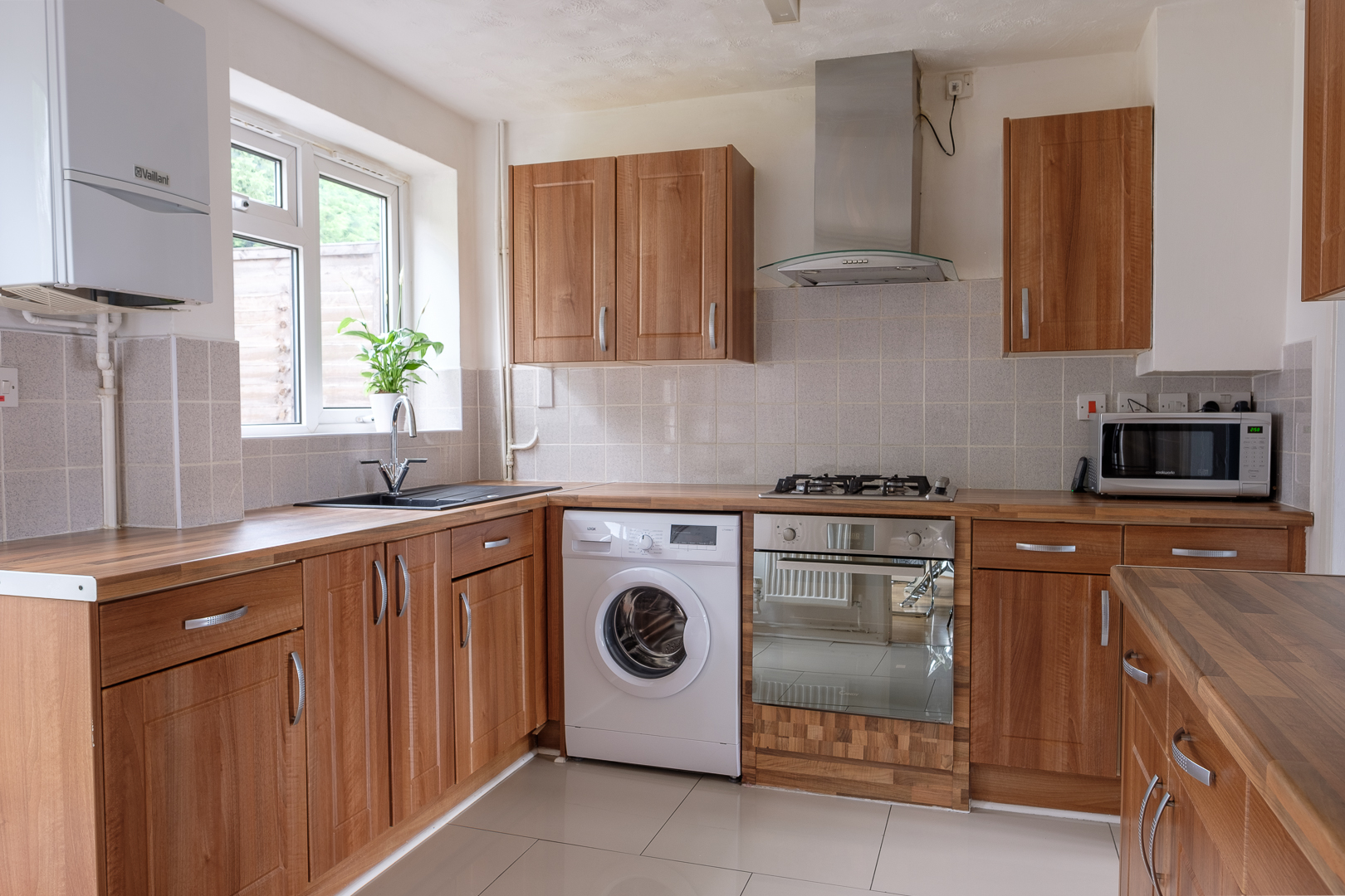 Kitchen at Dickens House, Tilgate, Crawley