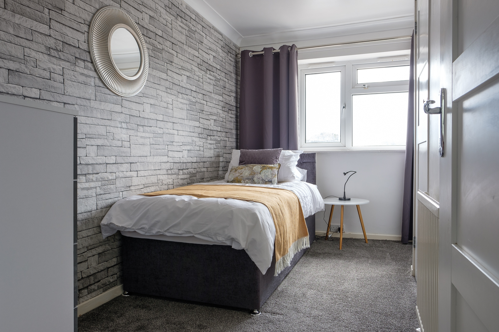 Single at Dickens House, Tilgate, Crawley
