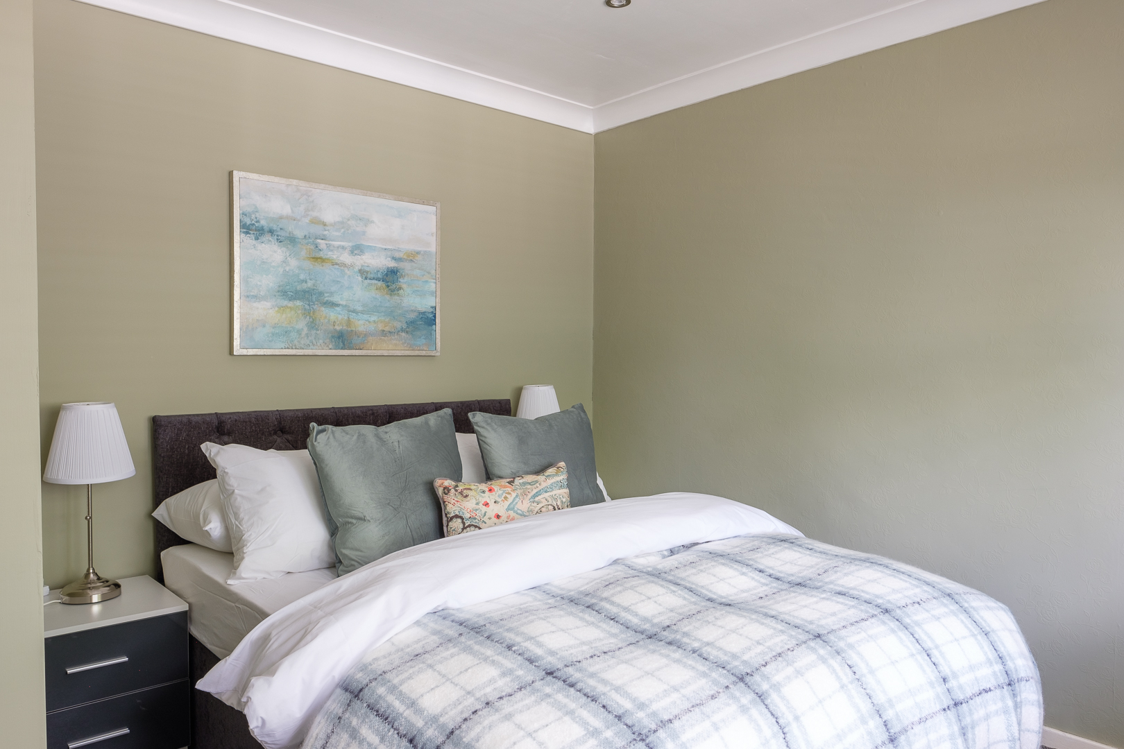 Bed at Dickens House, Tilgate, Crawley