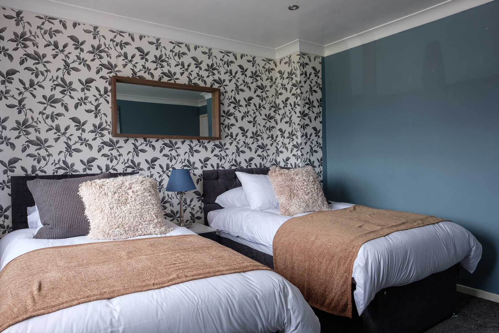 Twins at Dickens House, Tilgate, Crawley
