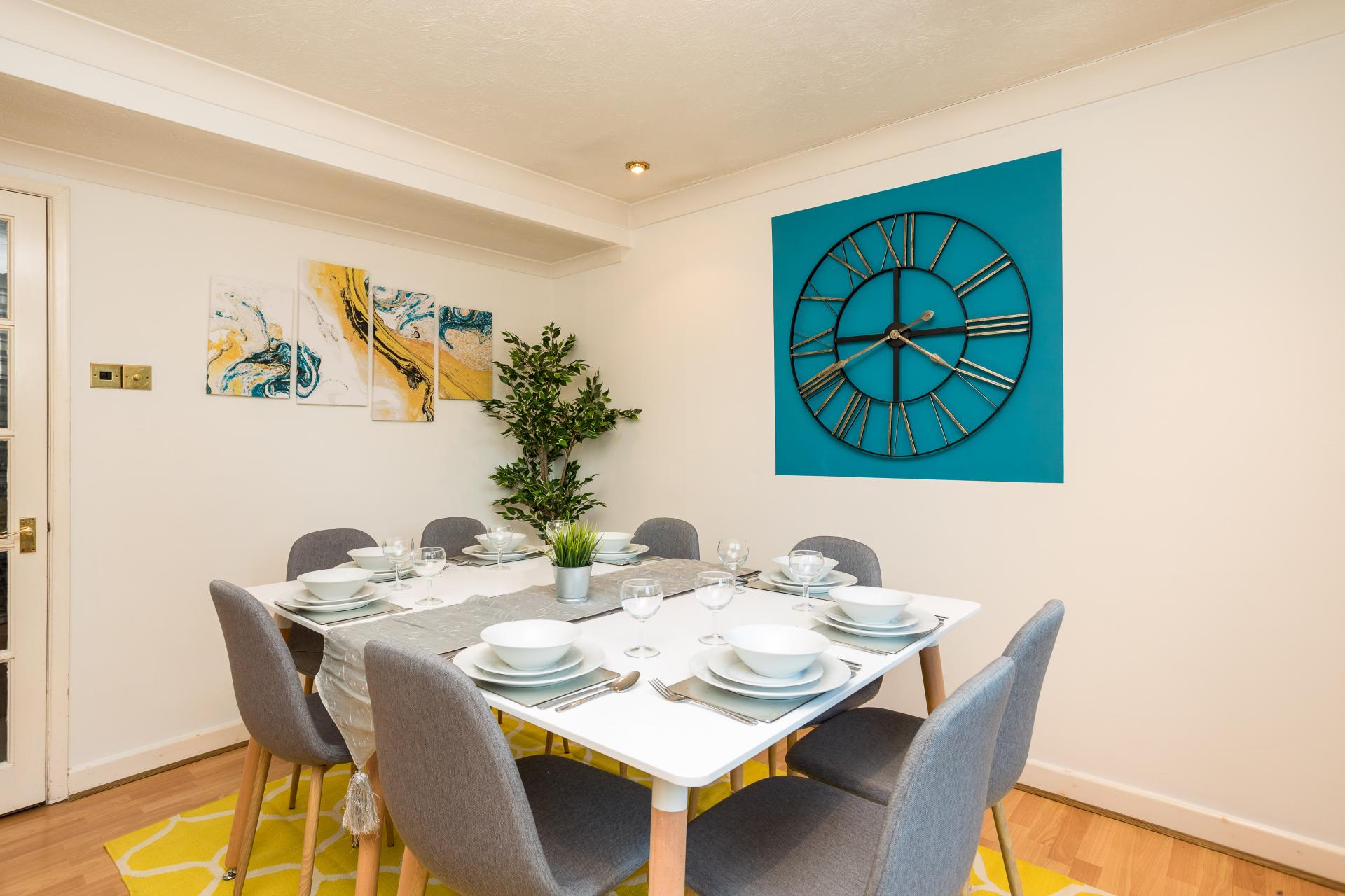 Dining area at Graveney House, Maidenbower, Crawley