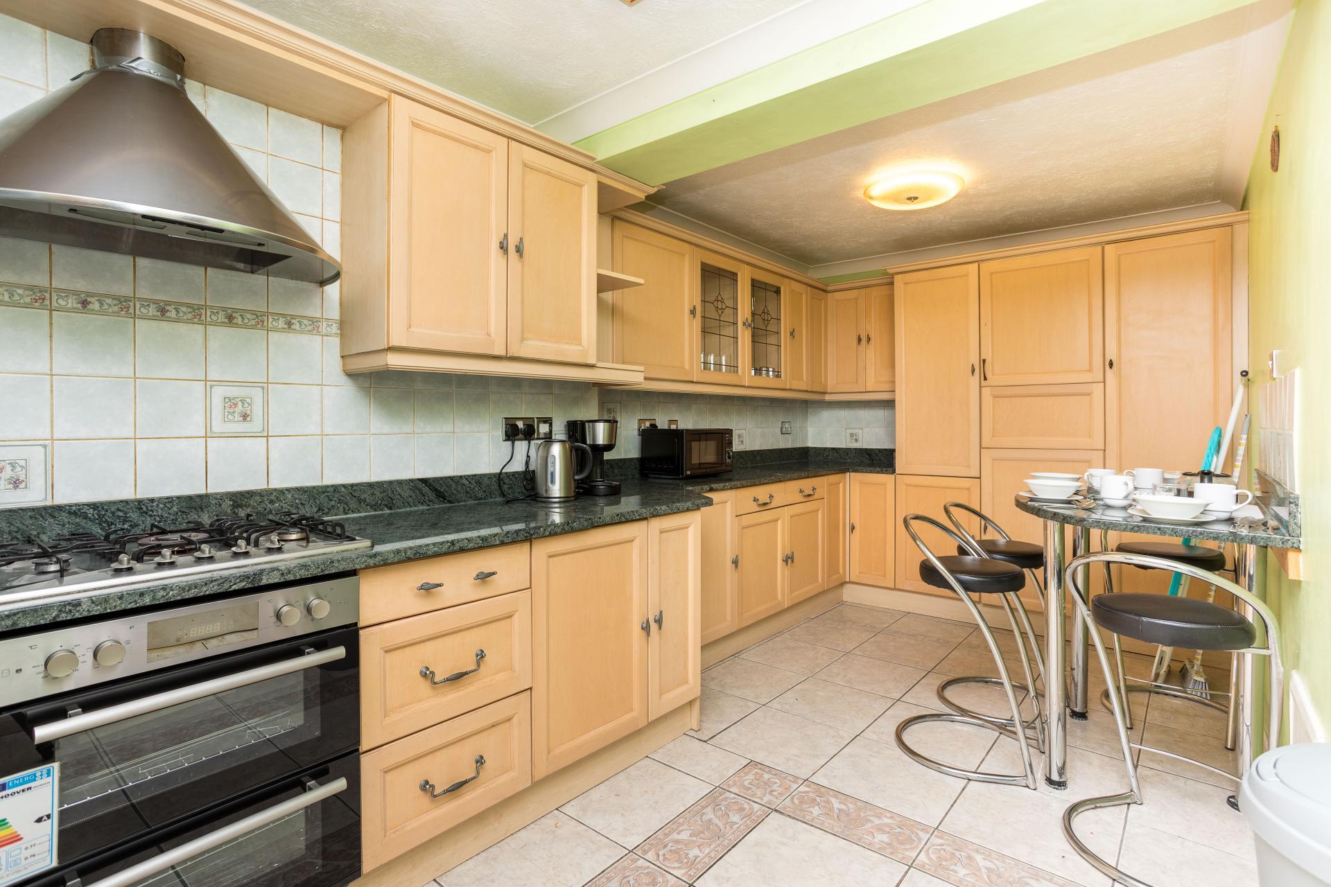 Kitchen at Graveney House, Maidenbower, Crawley
