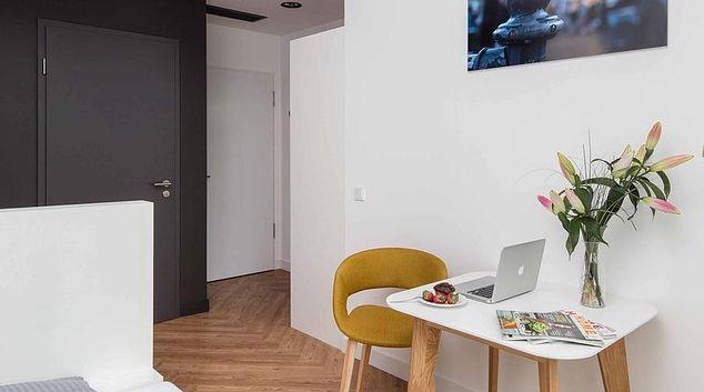 Seating at Fasanenstrasse Apartment, Tiergarten, Berlin