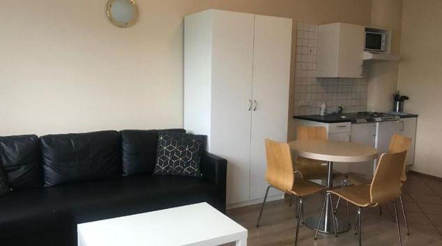 Lounge at Grensasvegur Apartments, Háaleiti N, Reykjavik