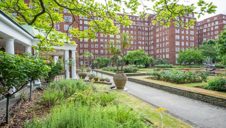 Open garden at Dolphin House
