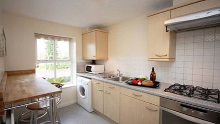 Smart kitchen in Bevan Gate Apartments