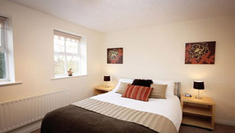 Comfortable bedroom in Bevan Gate Apartments