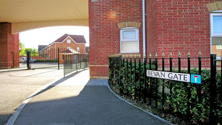 Exterior of Bevan Gate Apartments
