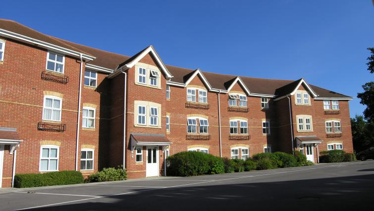 Exterior view of Bevan Gate Apartments