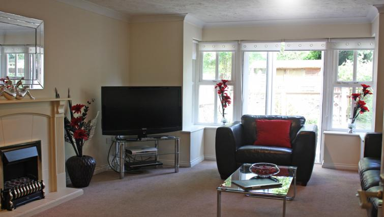 Living area at Bevan Gate Apartments