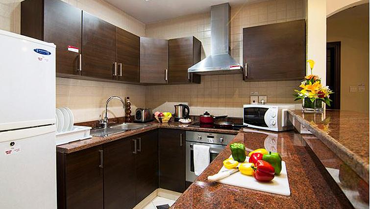 Contemporary kitchen in Auris Boutique Hotel Apartments
