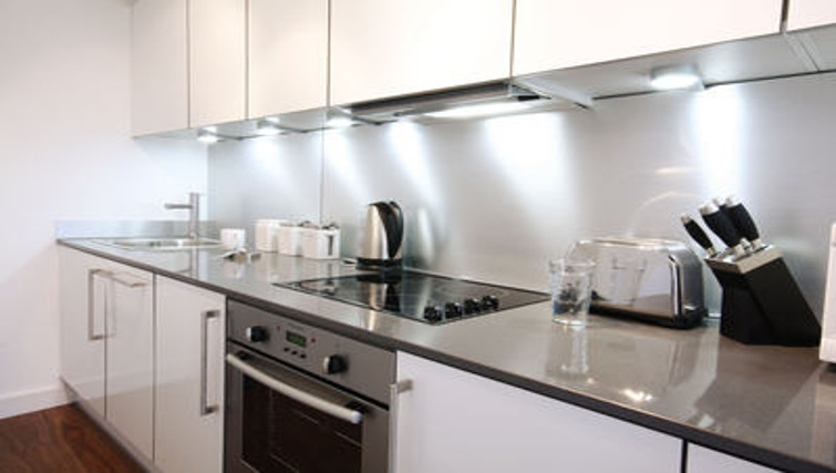 Stunning kitchen in Slough Mosaic Apartments