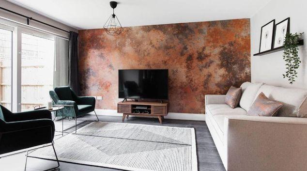 Living area at Josh Brooks House, Smethwick, Birmingham