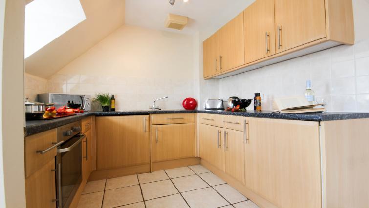 Stunning kitchen in Alexandra Court Apartments