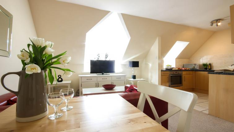 Dining area at Alexandra Court Apartments