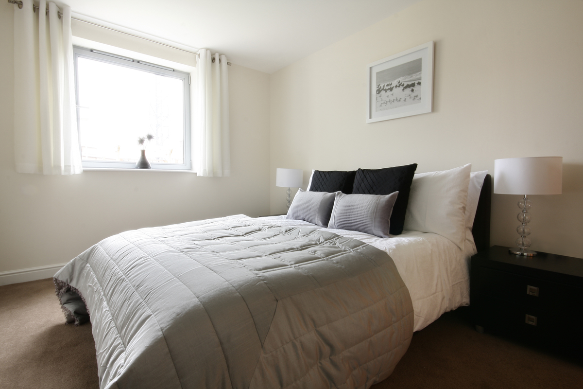 Bedroom at Kelvin Gate
