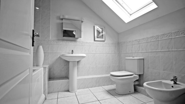 Bathroom in Gray Place Apartments