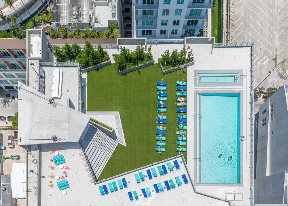 Pool at Miami at Brickell, Downtown, Miami