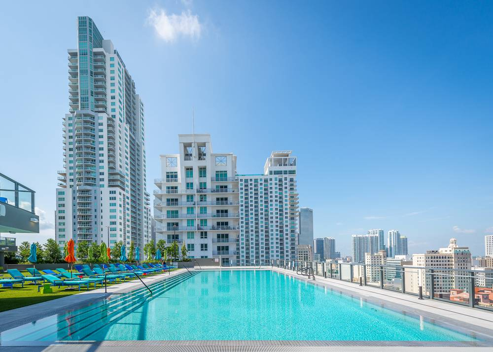 Swimming pool at Miami at Brickell, Downtown, Miami