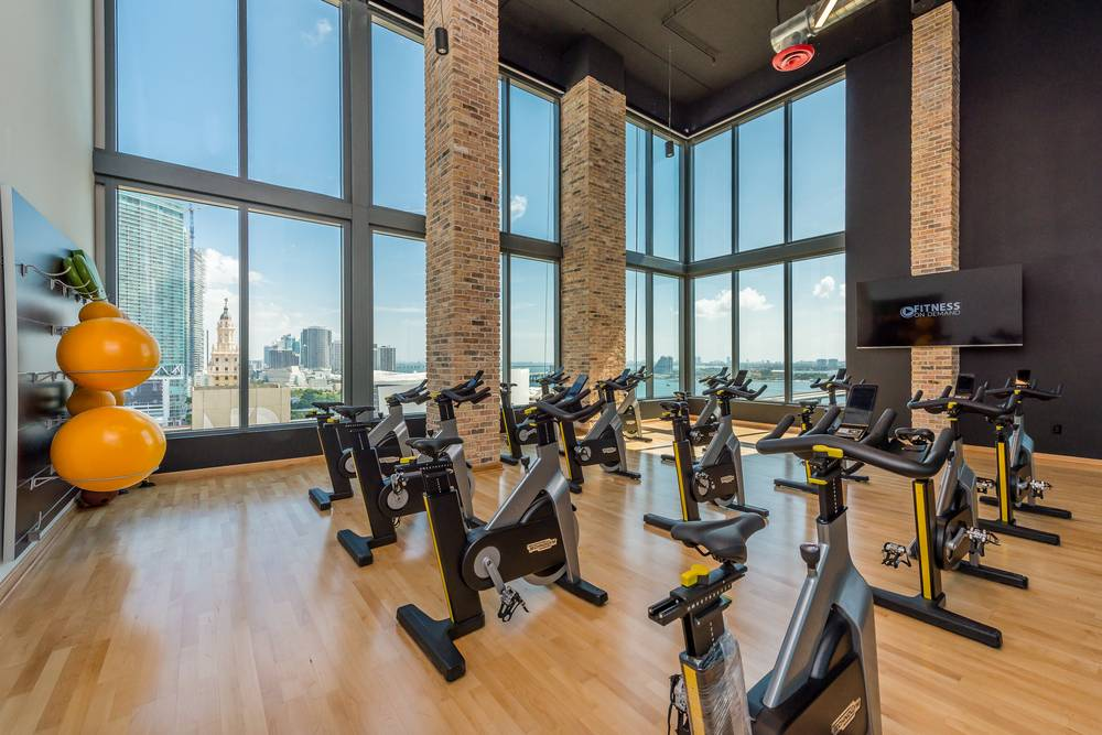 Gym at Miami at Brickell, Downtown, Miami