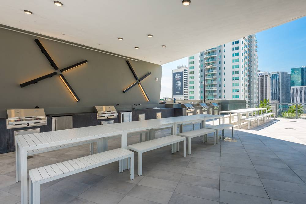 Seating area at Miami at Brickell, Downtown, Miami