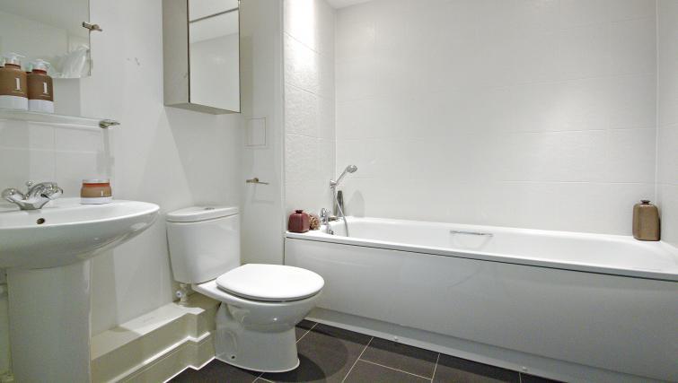 Bath at The Pavilions Apartments