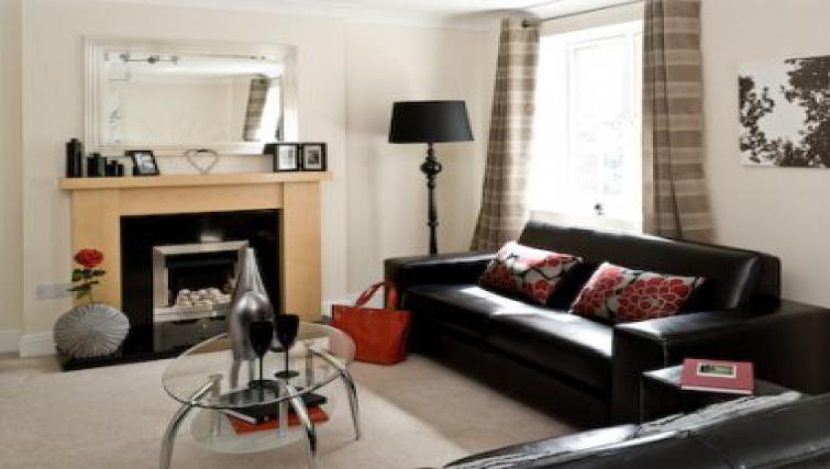 Lovely living area in Darwin Place Apartment