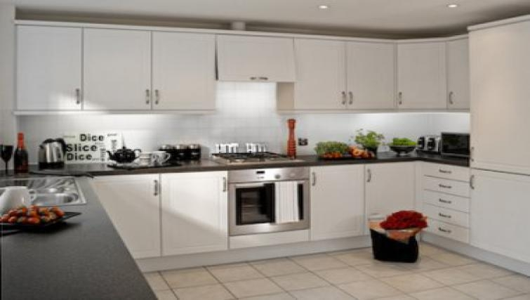 Stunning kitchen in Darwin Place Apartment