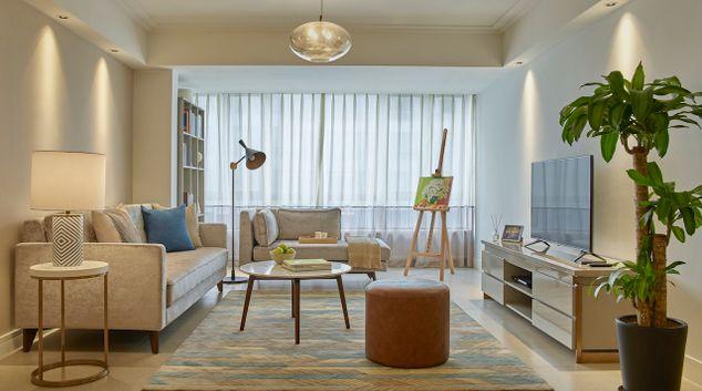 Living area at Tianfu Square Serviced Suites, Qingyang, Chengdu