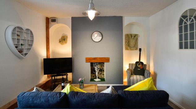 Living area at Cambrian Place Apartments, Centre, Swansea