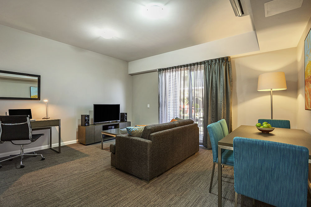 Living area at Quest Berrimah, Centre, Darwin
