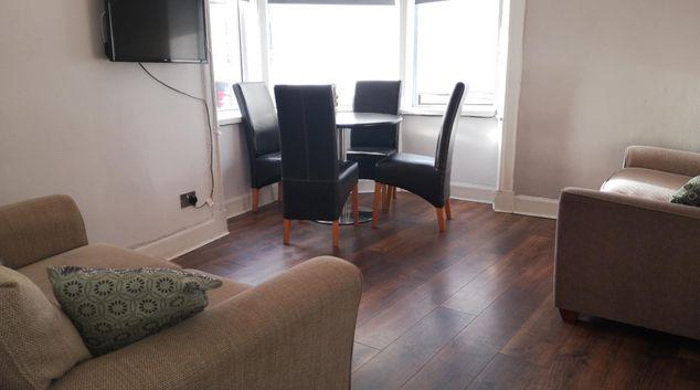 Living Room at Cordiner Street Apartment, Mount Florida, Glasgow
