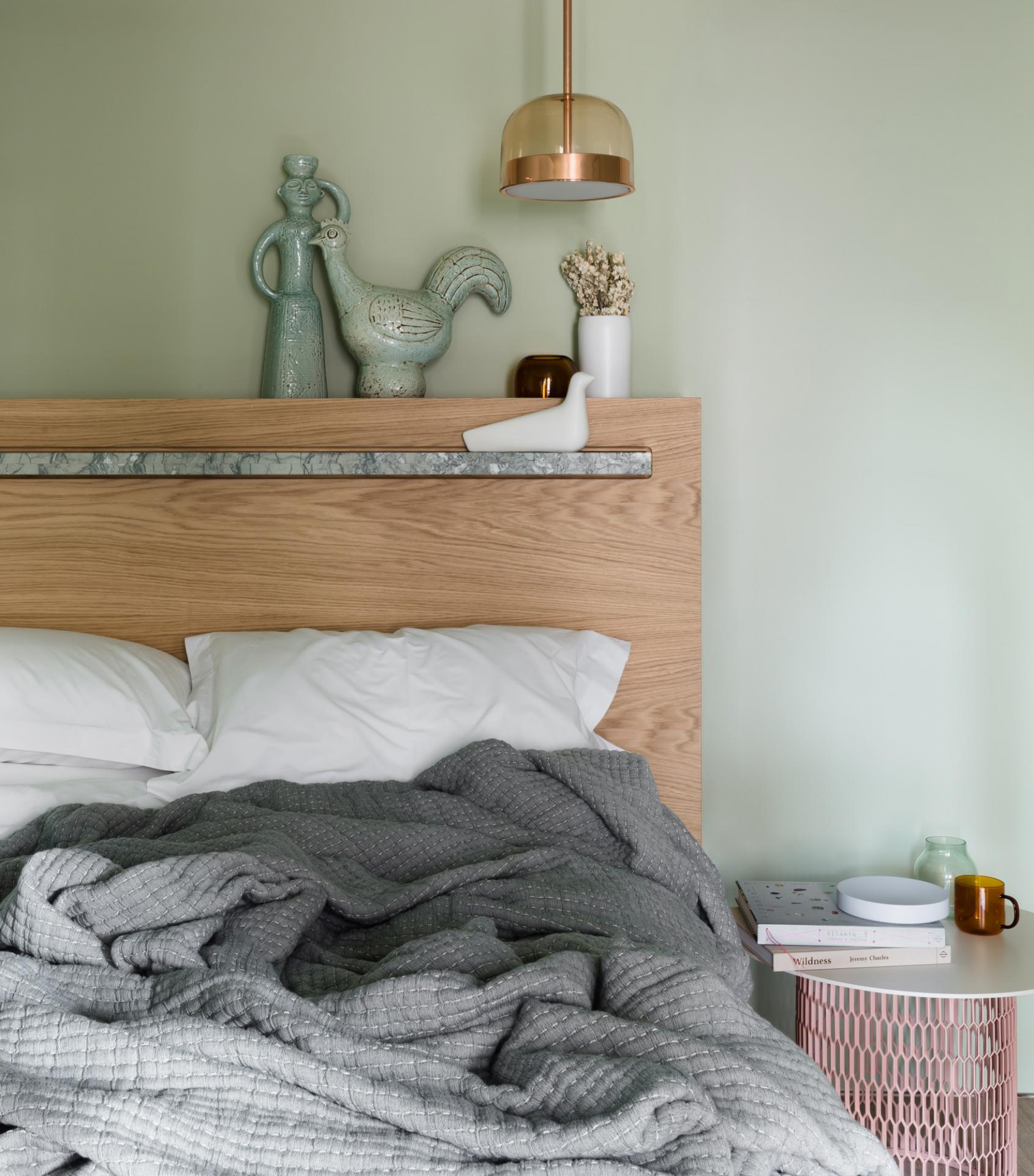 Bedroom at Locke at Broken Wharf Apartments, City, London