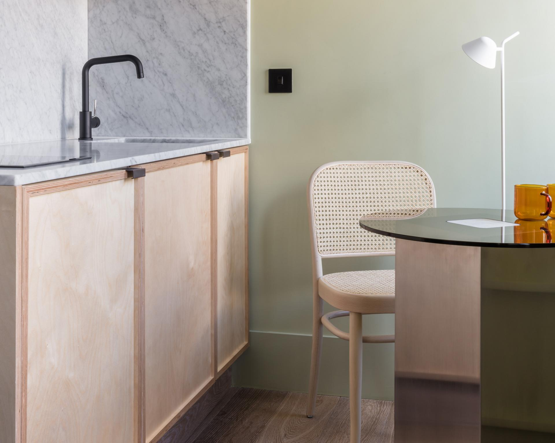 Kitchen at Locke at Broken Wharf Apartments, City, London