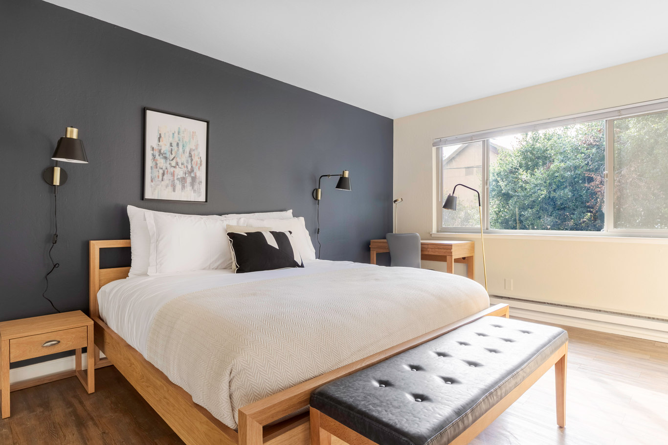 Double Bedroom at Bayside Village Place, Rincon Hill, San Francisco