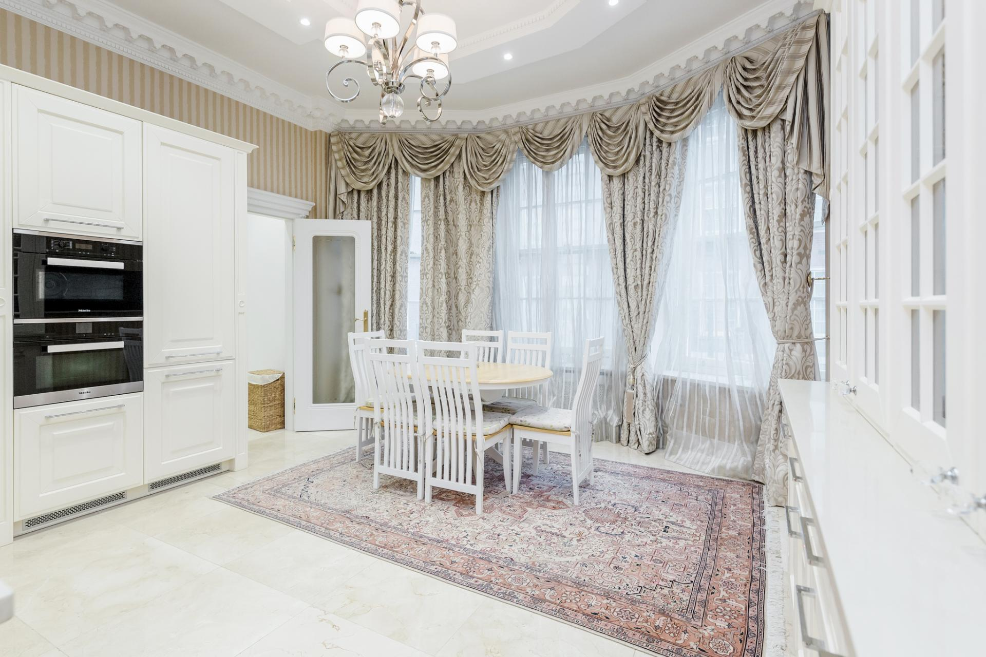 Table at Grosvenor Square Apartment, Mayfair, London