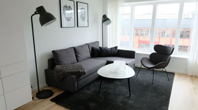 Lounge at Valby Maskinfabriksvej Apartment, Valby, Copenhagen