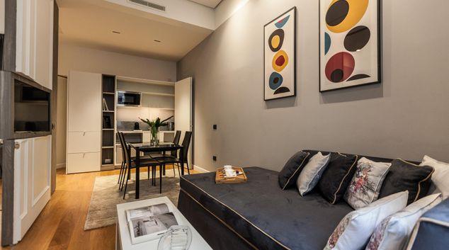 Living area at Corso Secret Apartment, Monti, Rome