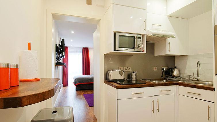 Stylish kitchen in Native Camden Apartments