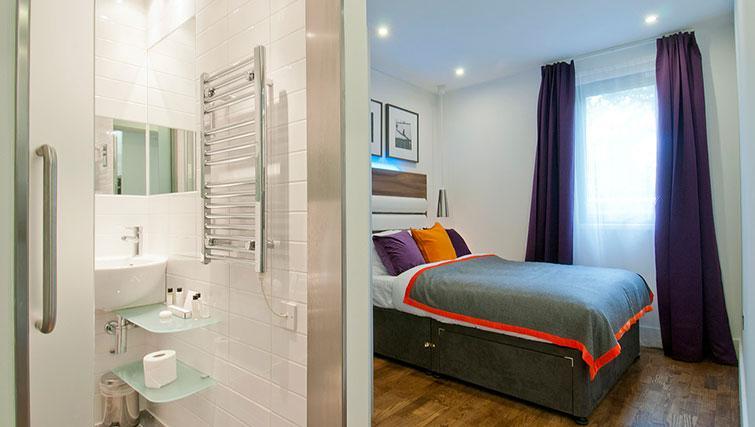 Bedroom at Native Camden Apartments