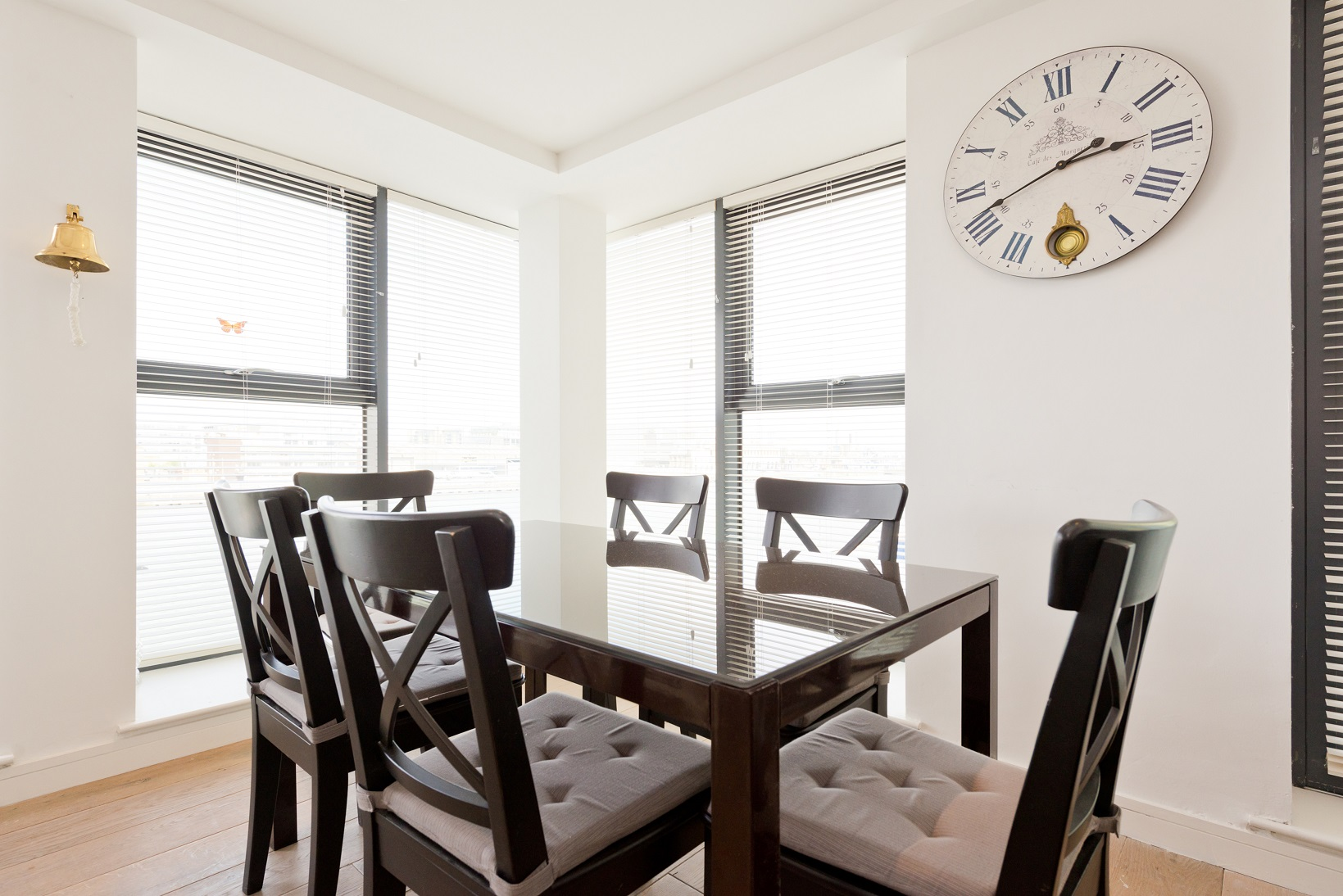 Dining area at Butlers Court Apartments, North Wall, Dublin