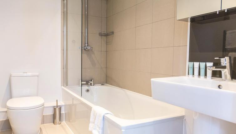Bathroom at Native Fenchurch Street Apartments
