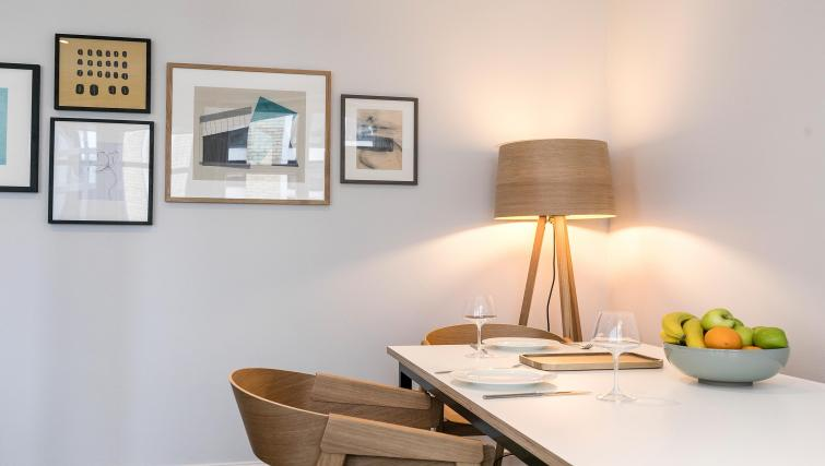 Dining area at Native Fenchurch Street Apartments